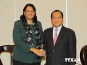 胡志明市愿与古巴各地加强合作