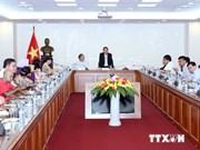 越通社总经理阮德利会见亚洲新闻联盟代表团
