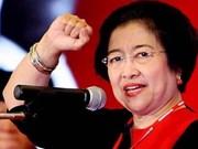 梅加瓦蒂女士连任印尼斗争派民主党主席