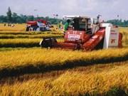 韩国协助越南九龙江三角洲促进农业机械化