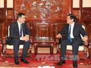 越南国家主席张晋创会见白俄罗斯客人