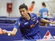 """超300名运动员参加第三届越南""""新河内报杯""""乒乓球公开赛"""