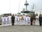 澳大利亚皇家海军军舰访问胡志明市