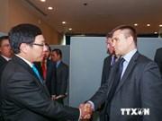 第69届联合国大会:范平明副总理会见各国外长