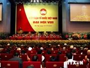 越南祖国阵线第八次全国代表大会圆满落幕