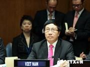 范平明外长出席第69届联大期间的系列会议