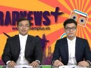 越通社电子报VietnamPlus说唱新闻获创意新闻奖