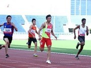 第17届亚运会:越南田径运动员获得银牌