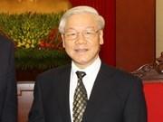 越共中央总书记阮富仲:全面促进并深化越韩战略合作伙伴关系
