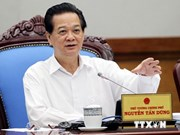 政府总理阮晋勇:加紧实施各措施 实现增长目标达5.8%