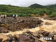 洪水给越南老街省造成损失