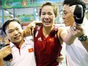 第17届亚运会:越南两位女拳击运动员同获铜牌