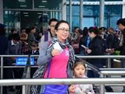 2014年前9个月越南广宁省吸引游客量达610万多人次