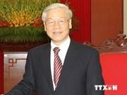 阮富仲总书记:越韩战略合作伙伴关系发展前景较为明朗