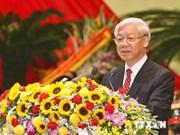 越共中央总书记阮富仲一行启程对韩国进行国事访问