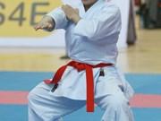 第17届亚运会: 越南空手道选手阮黄银获得银牌