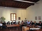 河内市与意大利罗马分享古迹保护与修复经验