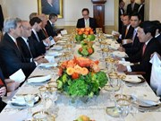 范平明副总理访问美国促进两国多领域合作