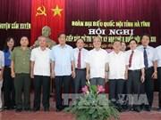 越南国会主席阮生雄同河静省选民接触
