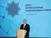 越南出席第四届巴库国际人道主义论坛