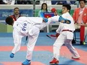 第17届亚运会第14天:越南空手道选手阮青维获得铜牌