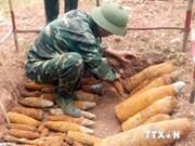 越南广治省发现战后遗留炸弹150枚