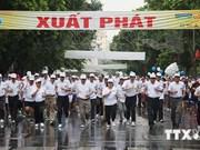 越南首都河内解放60年:第41次《新河内报》跑步公开赛决赛开赛