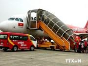 越捷航空以9000越盾廉价出售2000张机票