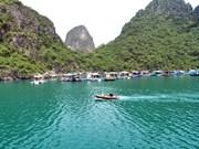 越南广宁省万门渔村跻身世界10大最美沿海渔村之列