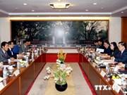 越南与老挝分享国家预算管理经验