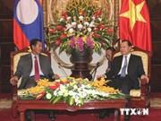 越老两国关系在多个领域上不断深入切实发展