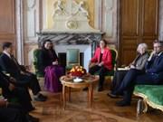越南国会高级代表团对法国进行工作访问