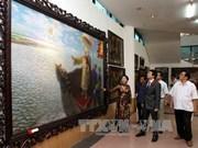 千年文献的河内升龙美术展开幕