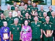 越南人民永远铭记各位革命有功者的巨大功劳
