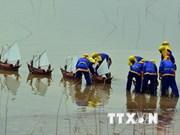 反对中国在越南黄沙群岛非法建设跑道