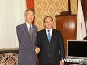 越南政府副总理阮春福出访日本
