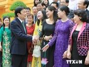 越南国家主席:企业应同党和国家强力提升综合经济实力