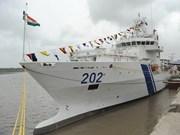 印度海警船访问越南岘港市