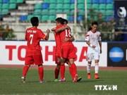 亚洲U19青年足球锦标赛决赛圈:越南队1比1与中国队打成平手