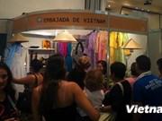 越南参加第四次南美共同市场手工艺品展销会