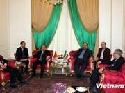 越南政府副总理阮春福同伊朗副总统举行会谈