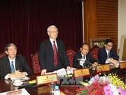 越共中央总书记阮富仲:促进文化与旅游继续融合发展