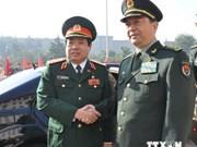 越南高级军事代表团访问中国