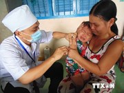 麻疹风疹疫苗接种活动惠及750万名越南南部地区儿童
