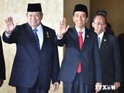 印尼新总统正式宣誓就职