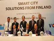 越南胡志明市与芬兰促进合作发展
