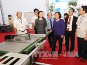 越南劳动荣军和社会部部长视察第10届东盟职业技术比赛的筹备工作