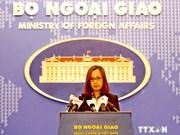 外交部副发言人:有关各方在越南海域展开的各活动而未经越南允许皆非法