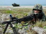 菲美日海军首次举行联合军演