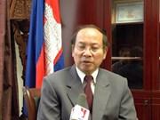 不让任何势力破坏越柬两国友好关系